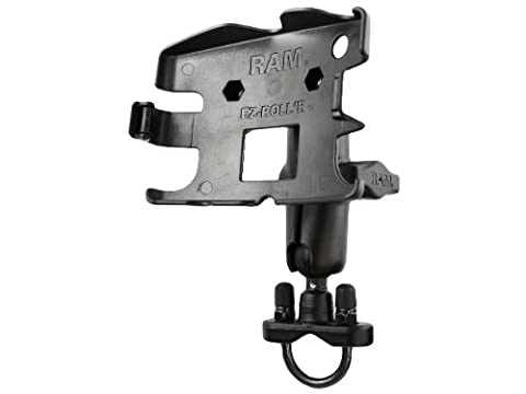 Ram Mount Handlebar Rail Mount with Zinc Coated U-Bolt Base for the TomTom GO 520, 520T, 630, 720, 720T, 730, 920 and 920T