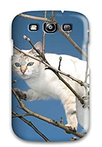 Cute Tpu AnnaSanders Cat On A Tree Animal Cat Case Cover For Galaxy S3