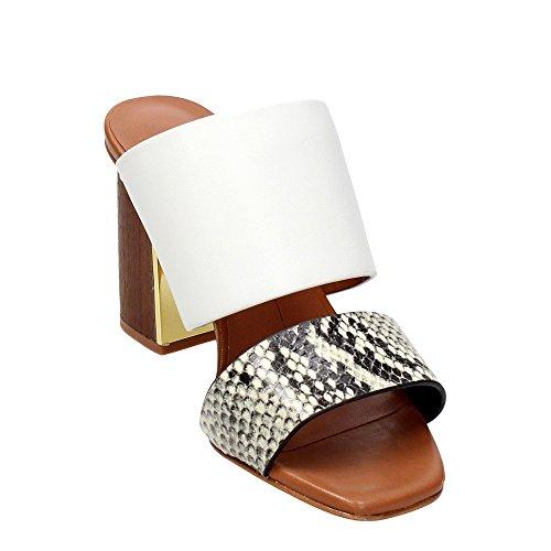 LOLA CRUZ - Sandalias de vestir para mujer blanco blanco blanco