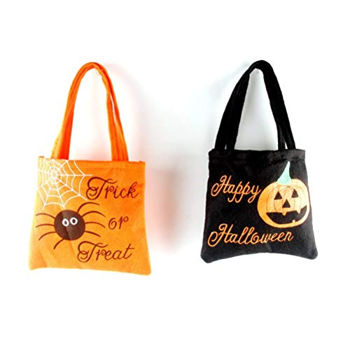 Party Diy Decorations - Non Woven Trick Or Treat Bags Candy Handbag Happy Halloween Fabric Children Gift - Decorations Party Party Decorations Plastic Candy Pumpkin Souvenir Halloween Pocket T