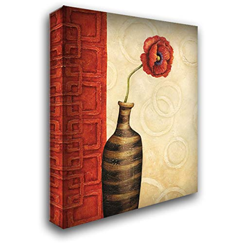 Rouge I 20x24 Gallery Wrapped Stretched Canvas Art by Corbin, Delphine