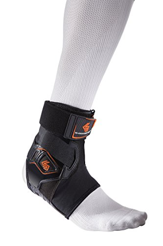 Shock Doctor 2055 Bio-Logix Ankle Brace, Black, Right M/L