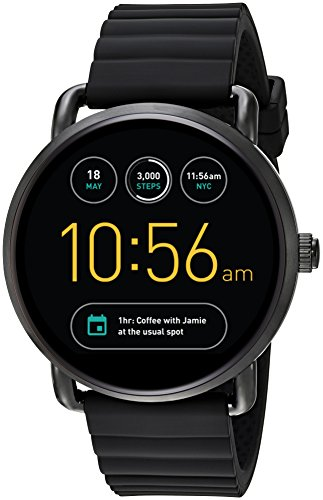 Fossil Q Wander Gen 2 Black Silicone Touchscreen Smartwatch FTW2103 by Fossil