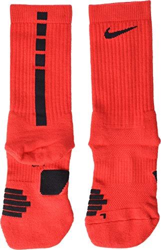 Nike Elite Basketball Crew Socks University Red/Black Size Small (Elites For Socks Kids Nike)