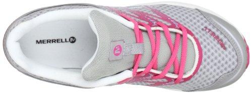 Merrell MIX MASTER JAM KIDS - Zapatillas de correr de material sintético niña multicolor - Mehrfarbig (SILVER/HONEYSUCKLE)