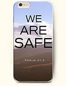 iPhone 6 Case,OOFIT iPhone 6 (4.7) Hard Case **NEW** Case with the Design of we are safe psalm 27:5 - Case for Apple iPhone iPhone 6 (4.7) (2014) Verizon, AT&T Sprint, T-mobile