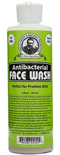 Uncle Harry's Natural Antibacterial Face Wash (8 fl oz) (Antibacterial Face Wash)