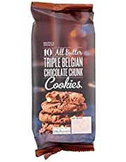 Marks & Spencer All Butter Triple Belgian Chocolate Chunk Cookies 225g (Pack of 4)
