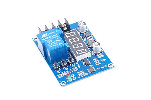 30A Battery Charge Controller Protection Switch DC 6V-60V Battery Protection Board for Lead Acid Battery and Lithium Battery