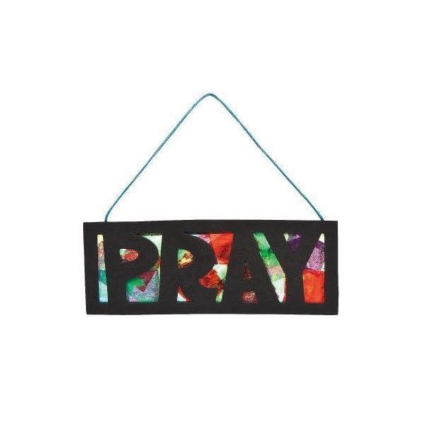 IN-488242-Pray-Tissue-Paper-Sign-Craft-Kit-Per-Dozen-suppliersaleaxis