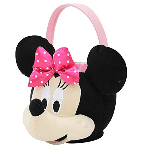 Minnie Mouse Medium Plush Basket]()