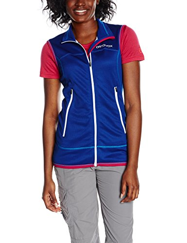 Ortovox Damen Weste Fleece Light, Strong Blue, M, 8700800013