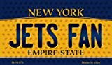 Jets Fan New York State License Plate Magnet M-10773 MINI Licence...