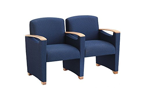 Fabric Two Seater with Center Arm Dimensions: 49