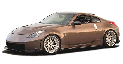 Nissan 350Z 2003-2008 N3-R Style 1 Piece Polyurethane Front Bumper manufactured by KBD Body Kits. Extremely Durable, Easy Installation, Guaranteed Fitment and Made in the USA!