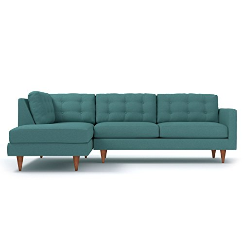 APT2B Logan 2pc Sectional Sofa, LAF - Left Arm Facing, Seafo