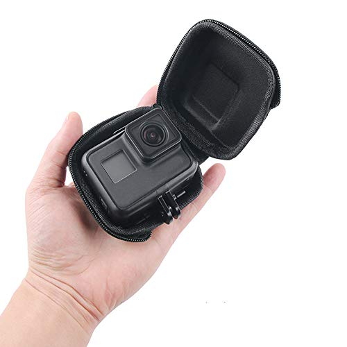 Portable Protective Mini Carrying Case Camera Bag for GoPro Hero 7, GoPro (2018), Hero 6, Hero 5, Session, Xiaomi Yi, Sjcam and Other Action Cameras