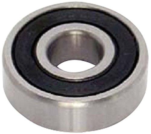 Peer Bearing 624-2RS 600 Series Radial Bearing, 4 mm ID, 13 mm OD, 5 mm Width, 2 Buna N Contact Seals ()