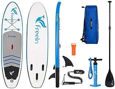 Amazon.com: freein Stand Up Paddleboard hinchable, todos los ...