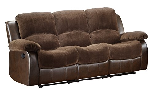 Homelegance 9700FCP-3PW Plushy Rolled Tufted Power Reclin...