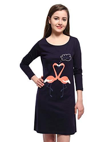 4373235538 Slumber Jill Navy Love You Too Sleepshirt  Amazon.in  Clothing   Accessories