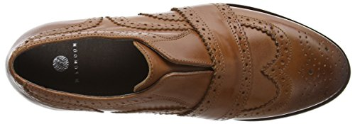 Hudson London Damen Maddie Brogues Braun (tan)