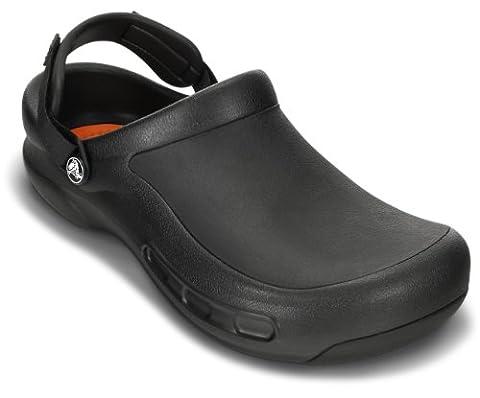 crocs Men's 15010 Bistro Pro Clog,Black,12 M