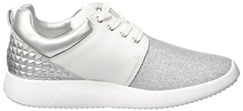 Tory Bianco Sneaker Silver a Basso White Lumberjack Donna Collo dTwfdqY