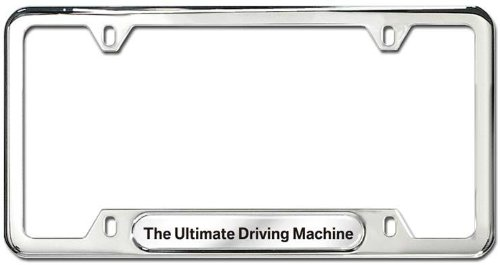 bmw 530i license plate frame - 5