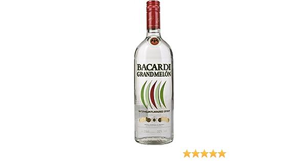 Bacardi Grand Melon Water Sabor Ron - 700 ml