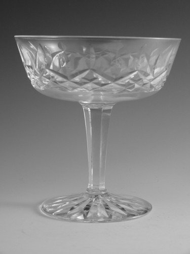 Waterford Crystal LISMORE Champagne Saucer Glass