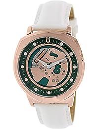 Bulova Men's Accutron II 97A111 White Leather Quartz Watch