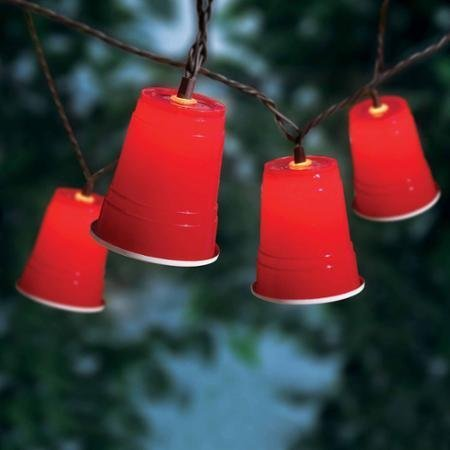Mainstays 10-Count Red Cup Lights