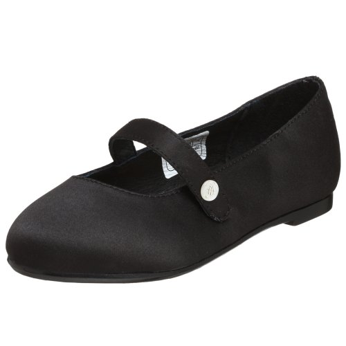 POLO by Ralph Lauren Toddler/Little Kid Amarissia Ballet Flat,Black Patent,9.5 M US Toddler by Polo Ralph Lauren