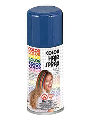 Forum Novelties Temporary Hair Spray Dye Blue Color Can Makeup Halloween ()