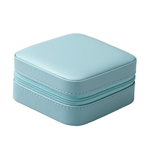 Amazoncom Vlando Small Faux Leather Travel Jewelry Box Organizer