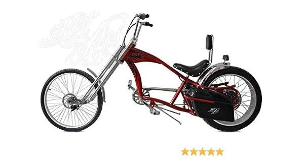 Rodars - Bicicleta Eléctrica Chopper Redzepellin: Amazon.es ...