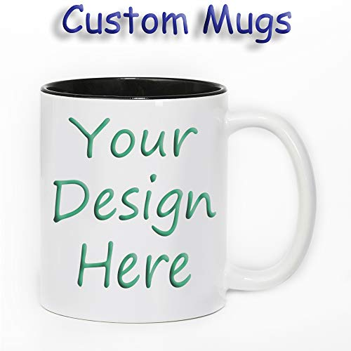 Customize The Mug Personalize The Coffee Cup Add Your Favorite Photo Logo Text Color-Changing Mug
