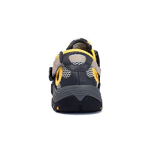 Trekking Asciugatura Spiaggia,esterni Rapida Antiscivolo Sneakers Sandali Sneakers,scarpe Ad Da Donna Guadare A Giallo Monte Casual Mesh Scarpe scarpe Traspirante Uomo Rete Aqawtxn