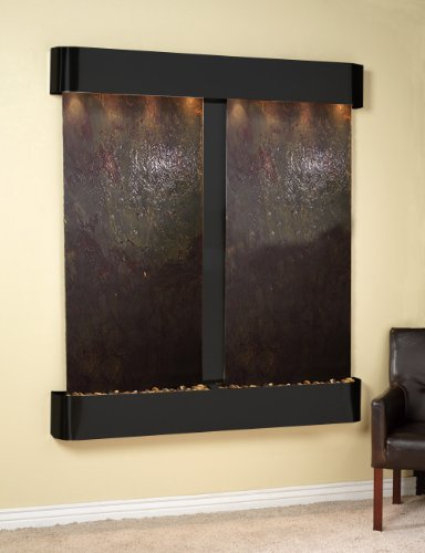 - Adagio Cottonwood Falls Fountain w/Rajah Featherstone in Blackened Copper Finish