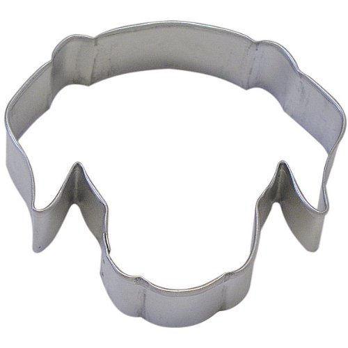 Dog Face Tin Cookie Cutter 3.5