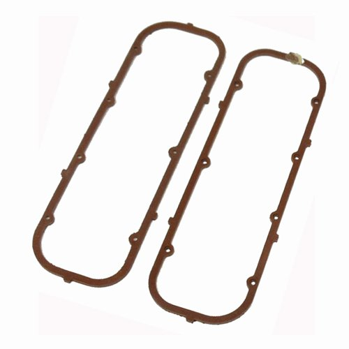 - 2 pairs Steel Core Cork Valve Cover Gaskets for BBC Big Block Chevy 396 427 454 502