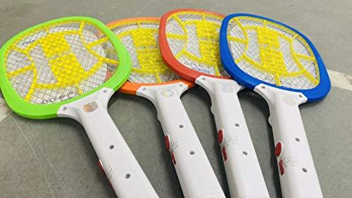 BENTEX Heavy-Duty Rechargeable Electric Mosquito Racket/Racquet/Bat with Bigger Lithium Polymer Battery and LED Light (with Warranty) One Charge can go Upto one Month of Usage (B08944KMFD) Amazon Price History, Amazon Price Tracker