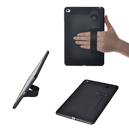 TFY Hand Strap Holder Stand with Soft Case Cover for iPad Mini 4