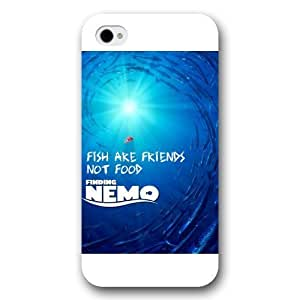 Customized White Frosted Disney Finding Nemo iPhone 4 4s case hjbrhga1544
