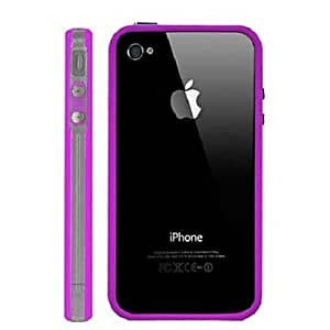 xiao Stylish Bumper Back Cover Case For iPhone 4/4S(Assorted Colors) , Green
