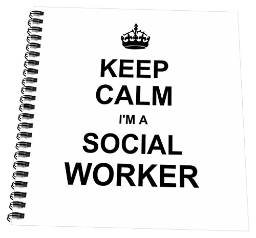 3dRose db 194473 3 Social Profession Notepad
