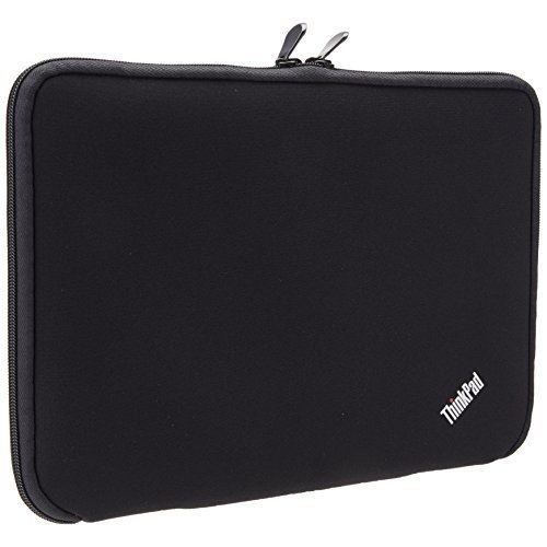 "Photo - Lenovo Carrying Case (Sleeve) for 12"" Notebook - Black, Red"