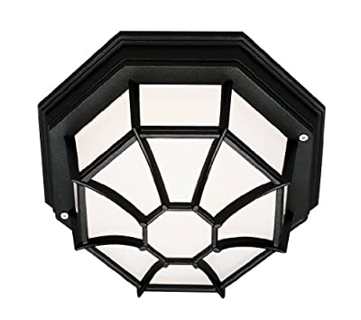 Trans Globe Lighting 40582 5-Inch 1-Light Large Outdoor Flush Mount