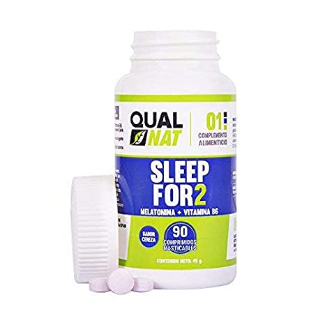 Melatonina Vitamina B6 Ayuda a Dormir 90 comprimidos masticables
